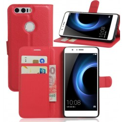 Huawei Honor Note 8 Red Wallet Case