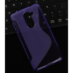 Purple Silicone Protective Case Huawei Honor 6X