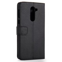 Protection Etui Portefeuille Cuir Noir Huawei Honor 6X
