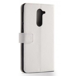 Protection Etui Portefeuille Cuir Blanc Huawei Honor 6X