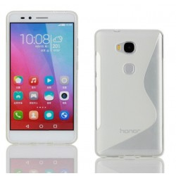 White Silicone Protective Case Huawei Honor 5c