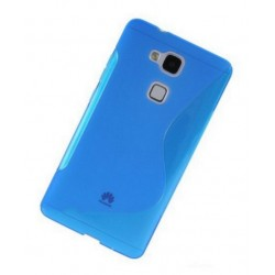 Blue Silicone Protective Case Huawei Honor 5c