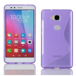 Purple Silicone Protective Case Huawei Honor 5c