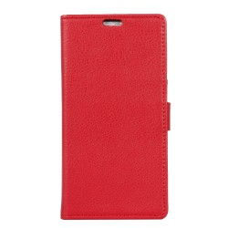 Huawei Honor 5x Red Wallet Case