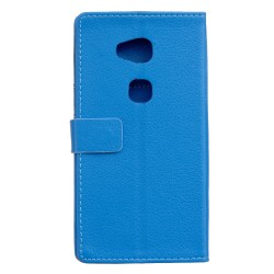 Huawei Honor 5x Blue Wallet Case