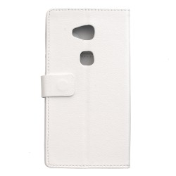 Huawei Honor 5x White Wallet Case