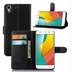 Huawei Honor 4a Black Wallet Case