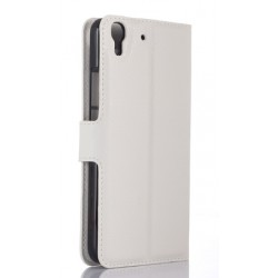 Huawei Honor 4a White Wallet Case