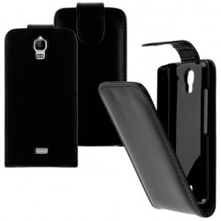 Huawei Y3 Black Flip Leather Case