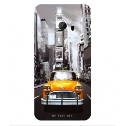 Coque New York Taxi Pour HTC 10