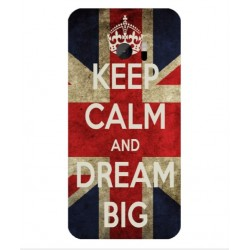 Keep Calm And Dream Big Hülle Für HTC 10