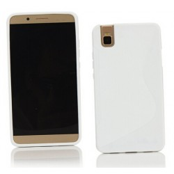White Silicone Protective Case Huawei Honor 7i