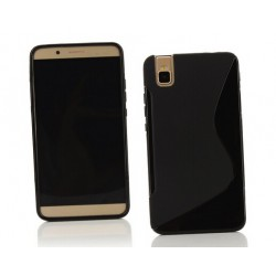 Black Silicone Protective Case Huawei Honor 7i