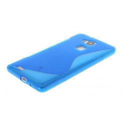 Blue Silicone Protective Case Huawei G8