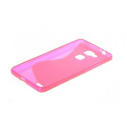 Pink Silicone Protective Case Huawei G8