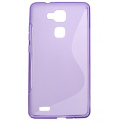 Purple Silicone Protective Case Huawei G8