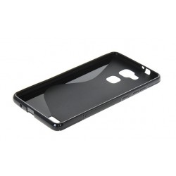 Black Silicone Protective Case Huawei G8