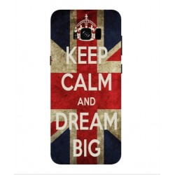 Samsung Galaxy S8 Keep Calm And Dream Big Cover