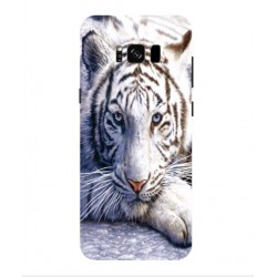 Samsung Galaxy S8 White Tiger Cover