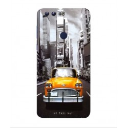 Carcasa New York Taxi Para Huawei Honor 8 Pro