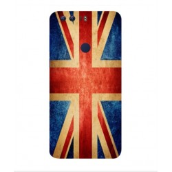 Funda Vintage UK Para Huawei Honor 8 Pro