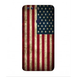 Coque Vintage America Pour Huawei Honor 8 Pro