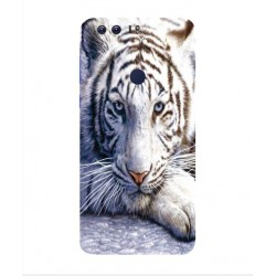 Funda Protectora 'White Tiger' Para Huawei Honor 8 Pro