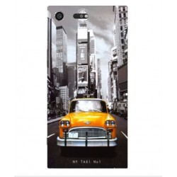 Sony Xperia XZ Premium New York Taxi Cover