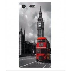 Sony Xperia XZ Premium London Style Cover