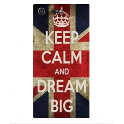Sony Xperia XZ Premium Keep Calm And Dream Big Cover