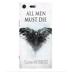 Sony Xperia XZ Premium All Men Must Die Cover