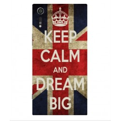 Sony Xperia XZs Keep Calm And Dream Big Cover