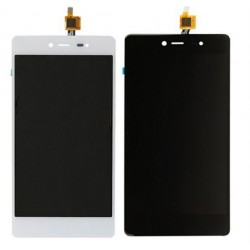 White Wiko Fever 4G Complete Replacement Screen