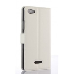 Wiko Fever 4G White Wallet Case