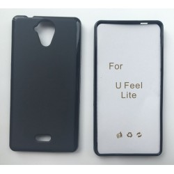 Black Silicone Protective Case Wiko U Feel