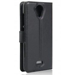 Wiko U Feel Black Wallet Case