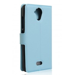 Wiko U Feel Blue Wallet Case