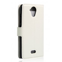 Wiko U Feel Lite White Wallet Case