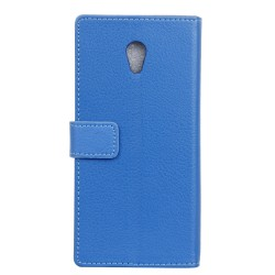 Wiko Robby Blue Wallet Case