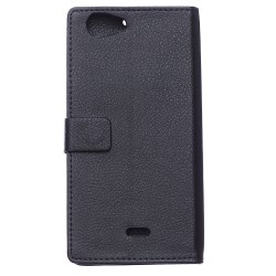 Wiko Pulp Fab 4G Black Wallet Case