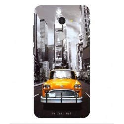 Coque New York Taxi Pour Alcatel A3