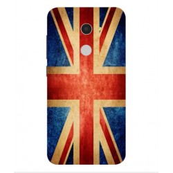 Funda Vintage UK Para Alcatel A3