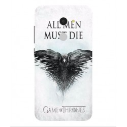 Funda All Men Must Die Para Alcatel A3