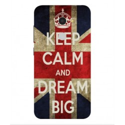 Carcasa Keep Calm And Dream Big Para Alcatel A3