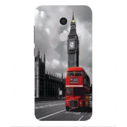 Alcatel A3 London Style Cover