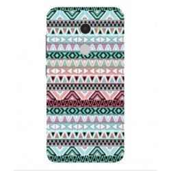 Coque Broderie Mexicaine Pour Alcatel A3