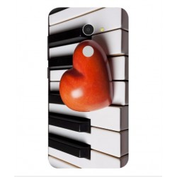 Funda I Love Piano Para Alcatel A3