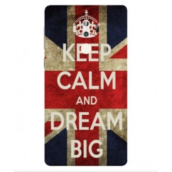 Coque Keep Calm And Dream Big Pour ZTE Axon 7 Max