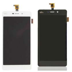 White Wiko Pulp 4G Complete Replacement Screen