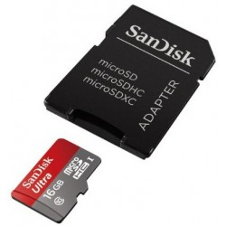 MicroSD 16Gb Sandisk para Alcatel Pixi 4 Plus Power